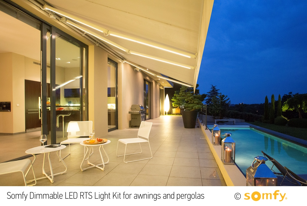 Somfy Introduces The Dimmable Led Rts Light Kit To Expand