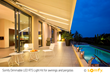 Somfy Introduces the Dimmable LED RTS Light Kit to Expand Use of Outdoor Living Space