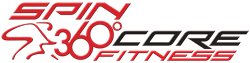 Spin 360 Core Fitness Logo