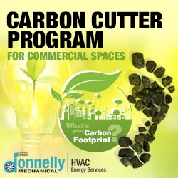 Donnelly Mechanical Commercial HVAC Carbon Cutter Program www.donnellymech.com