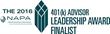 LeafHouse Recognized as Finalist for Prestigious NAPA 401(k) Advisor Leadership Award