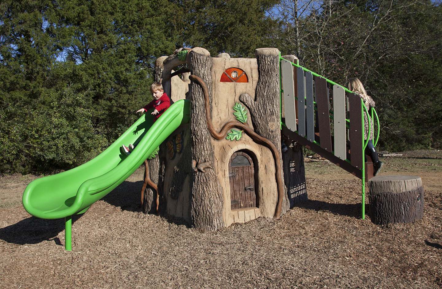 Gametime Introduces Nature Themed Preschool Playground
