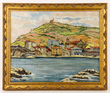 "Henri Hourtal, ""Cote d'Azur,"" Oil on Canvas"