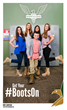ABC's The Middle star Atticus Shaffer and Boot Campaign's Patriot League Ambassadors