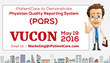 iPatientCare to Demonstrate Physician Quality Reporting System (PQRS) in its Upcoming Virtual User Conference (VUCON)