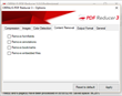 PDF Reducer content removal option