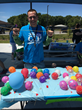 CIP Life Skills staff member Jack Anderson volunteers at the Brevard PALS Family Festival in Melbourne, Florida