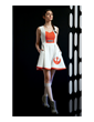 The new Her Universe Star Wars: The Force Awakens Collection, now available at Hot Topic, includes this striking Poe Dameron Flight Dress, reflecting the decorated X-wing pilot's uniform.
