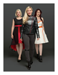 The new Her Universe Hot Topic Star Wars: The Force Awakens Collection designed by last year's Fashion Show winners Leetal Platt (left), Kelly Cercone (right) and Her Universe Founder Ashley Eckstein.