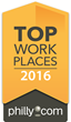 Philly.com Names SofterWare a Winner of the Delaware Valley 2016 Top Workplaces Award