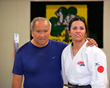 Legendary Coach Willy Cahill (left) & Christella Garcia Only Female on the 2016 US Paralympic Judo Team