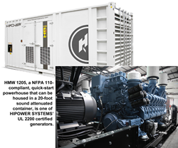 Underwriters Laboratories Certifies HIPOWER SYSTEMS MTU Generators for...