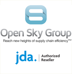 Open Sky Group is an Authorized Reseller of JDA Warehouse Management and Warehouse Labor Management