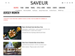 "Gourmet Food and Wine Magazine, ""Saveur"" Highlights New Jersey's Culinary Scene"