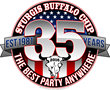 The Sturgis Buffalo Chip celebrates its 35th anniversary with a blowout party in 2016.