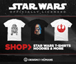 Design By Humans Offering New Designs in the Officially Licensed Star Wars Shop for May the Fourth