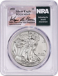 Wayne LaPierre Signature American Eagle Silver Coins Raise Funds For NRA