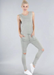 Dusty Spring Jumpsuit in Grey $42.00
