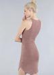 Dusty Spring Tunic Dress in Dusty Pink $32.00