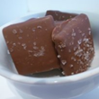 Milk chocolate sea salt toffee from Amy's Candy Bar.