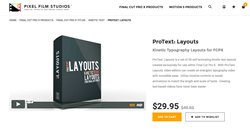 FCPX Effects - PFS - ProText Layouts
