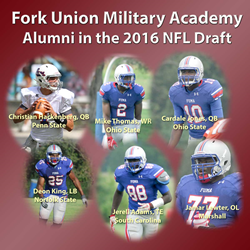 Alumni of Fork Union Military Academy in the 2016 NFL Draft