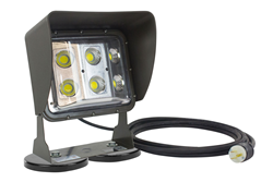 Magnetic Mount LED Flood Light Equipped with a 20' Cord