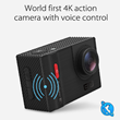 world's first voice broadcast action camera