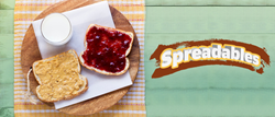 Spreadables is a household invention which will provide the best way to make a peanut butter and jelly sandwich.