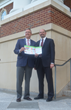 Steve Stroud, executive director of Roswell Inc and Kyle Talente, principal of RKG Associates