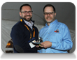 Hyphen's Joe Holland receives prestigious DINO award from Additive Manufacturing Users Group