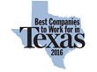 Corptax Named a 2016 Best Company to Work for in Texas for Fifth Consecutive Year.