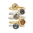 Dune Jewelry Stacker Rings