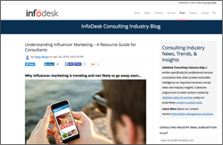 InfoDesk Consulting Industry Blog