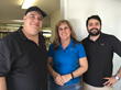 Meet the staff of Minuteman Press in El Cajon, CA. Pictured from left to right: Julian Rosado, Sr. (owner), Beth Hutchins, and Julian Rosado, Jr.