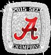 The University of Alabama SEC Championship Ring