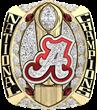 The University of Alabama National Championship Ring