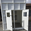The Seaboard shed-like enclosures help double the lifespan of the fans.