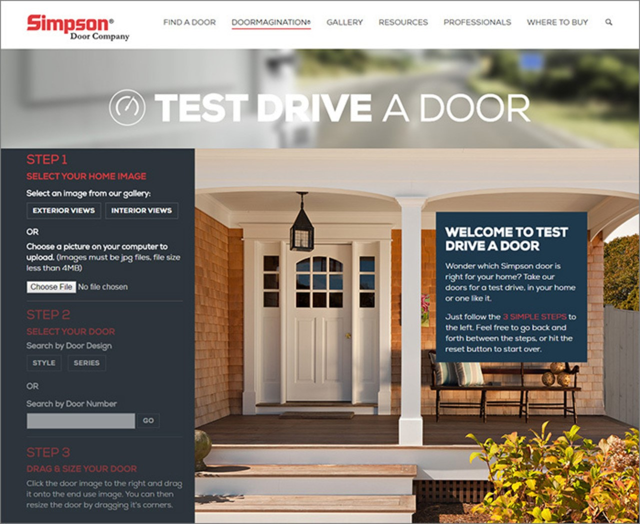 1048 #A26E29 Take A Simpson Door For A Test Drive Sweepstakes Open May 2 31  pic Simpson Doors Online 43711280