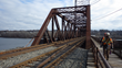 Modjeski and Masters Rehabs Railroad Swing Bridge