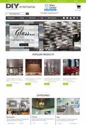 DIYdecorStore.com homepage photo