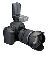 EL Skyport Plus works with virtually any camera and flash systme