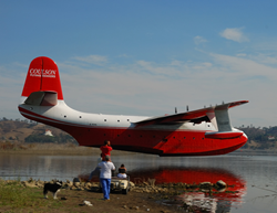 EAA, AirVenture, Oshkosh, Martin Mars, flying boat, Coulson Flying Tankers
