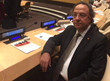 IDC President Toufic Baaklini at the United Nations.