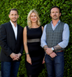 theAudience CEO Mike Dodge; EVP Debbie Menin and CCO Patrick Mulford