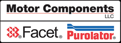 Motor Components/Facet/Purolator logos