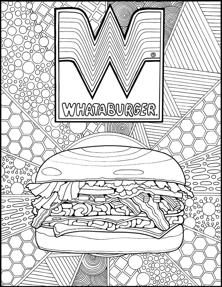 kvoa coloring contest pages - photo#36