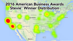 Stevie Award winners in The 2016 American Business Awards