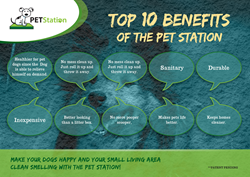 Pet Station is a pet invention designed to provide an easy and convenient way for pets to do their business without causing any mess.