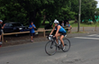 Julie Sommer finished second in her division for the entire Ironman 70.3 St. Croix triathlon on Sunday.